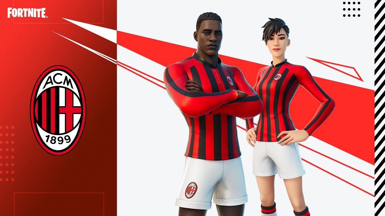 Il Milan arriva su Fortnite thumbnail