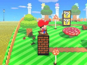 Animal Crossing Super Mario