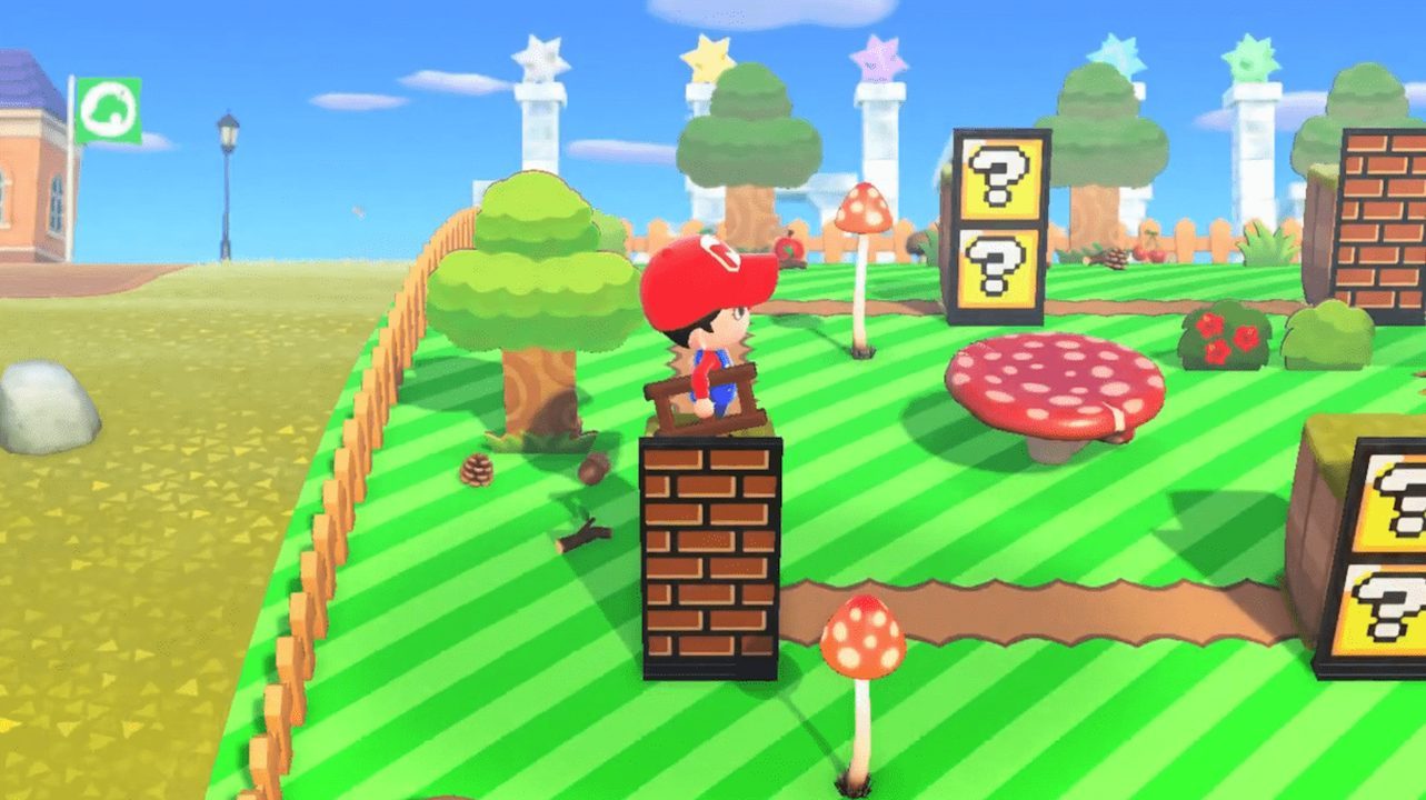 Ora Super Mario ha un'isola su Animal Crossing thumbnail