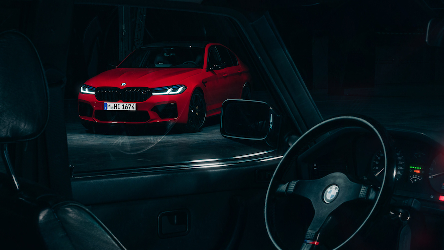 BMW M5 Competition F90
