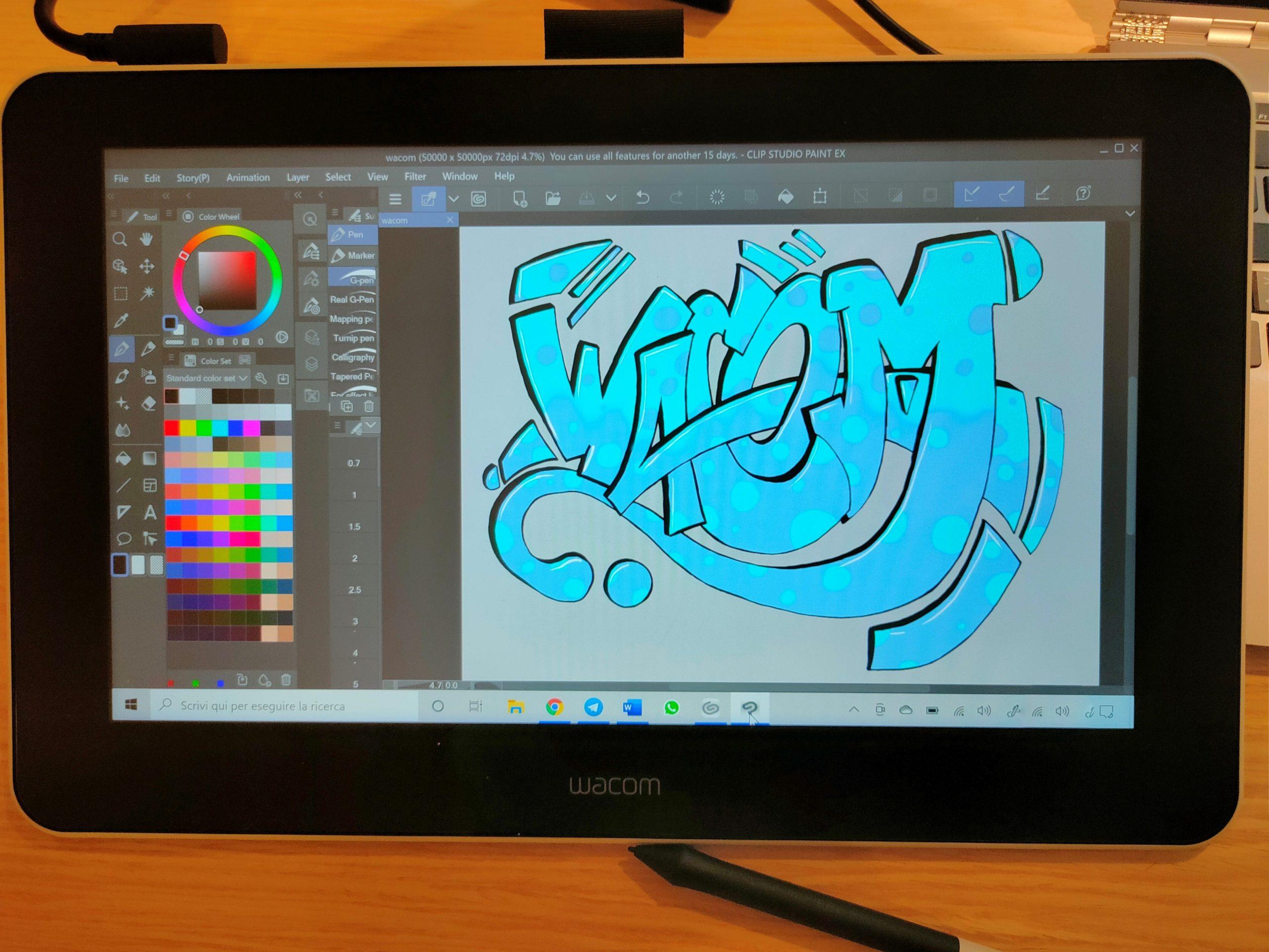 La recensione di Wacom One, la tavoletta grafica per il disegno e molto altro ancora thumbnail