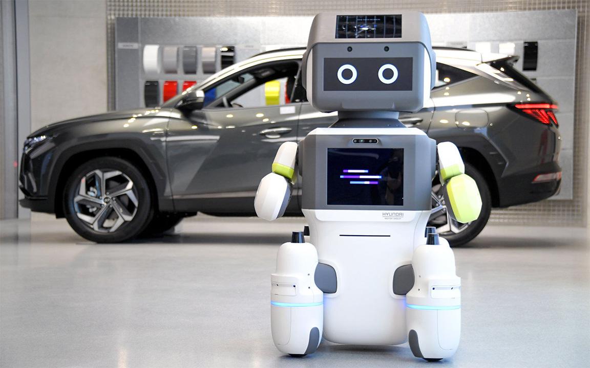 DAL-e, il robot Hyundai del servizio clienti