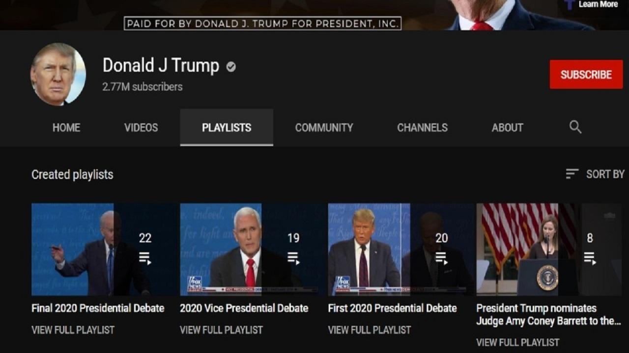 YouTube sospende per una settimana il canale ufficiale di Donald Trump thumbnail