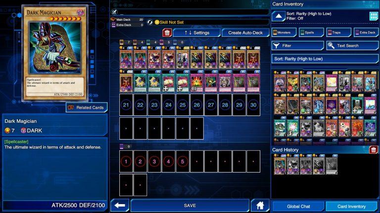 Duel-Links-schermata-Tech-Princess