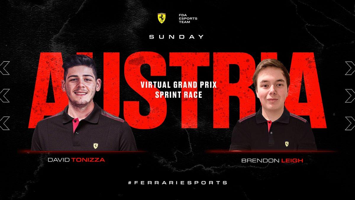 David Tonizza e Brendon Leigh Virtual GP 2021