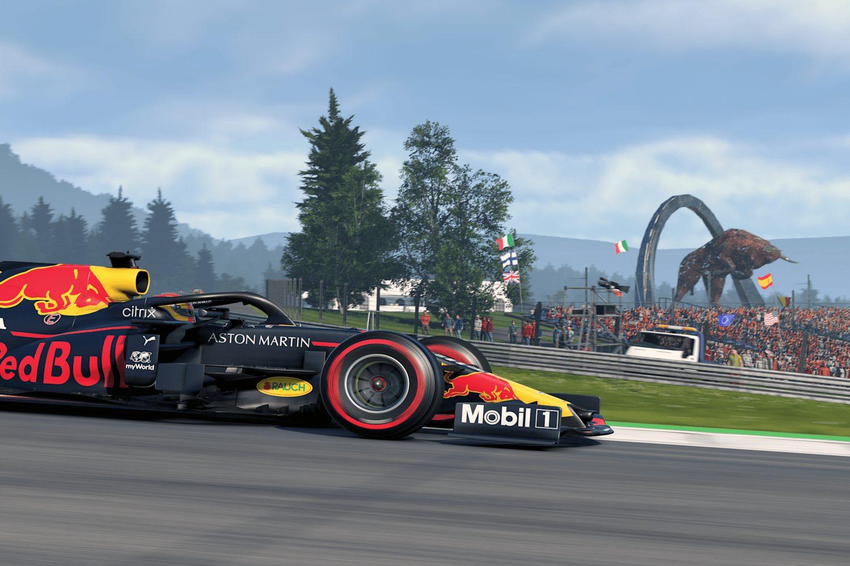 Red Bull al Red Bull Ring Su F1 2020