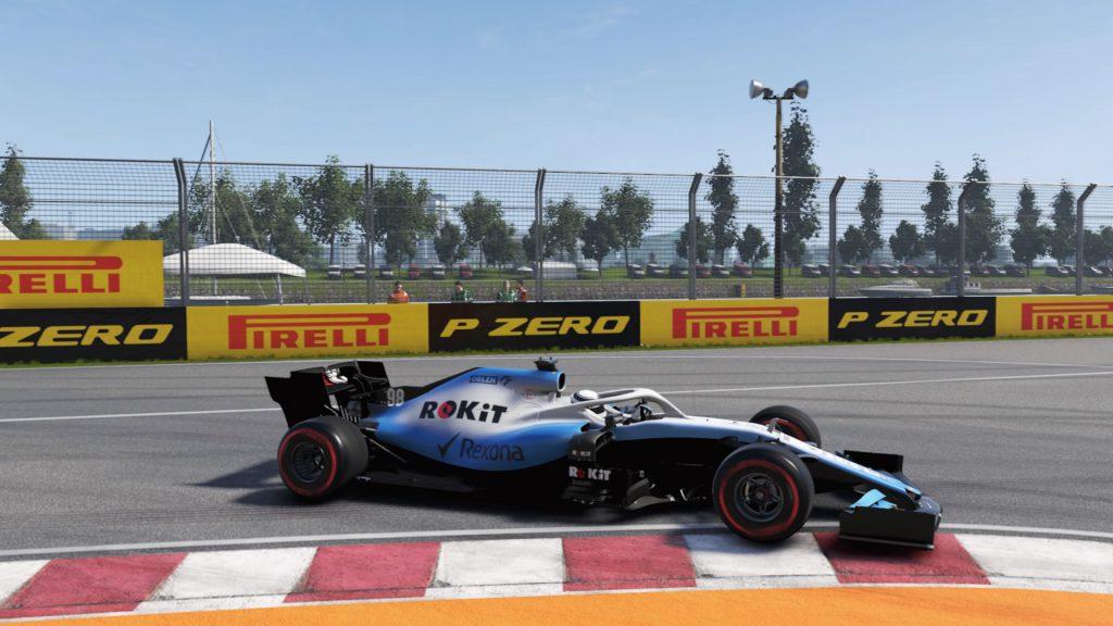 George Russell Virtual GP 2020