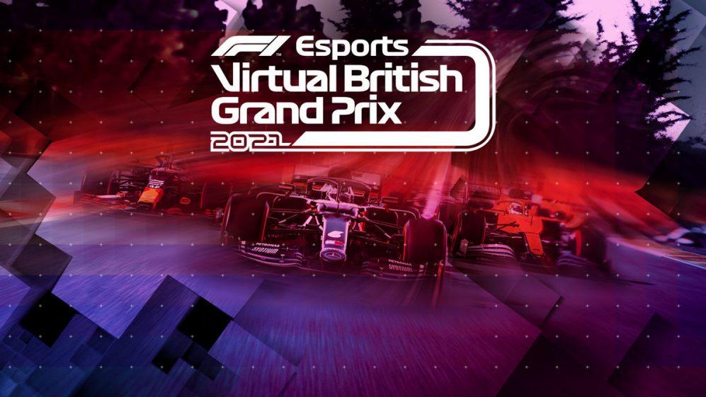 Locandina F1 Virtual GP UK