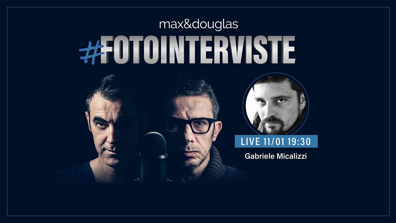 Gabriele Micalizzi è l'ospite della seconda puntata di #fotointerivste thumbnail