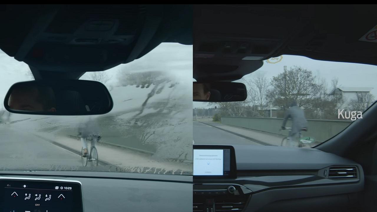 Con questa tecnologia Ford il parabrezza dell'auto non si appanna thumbnail