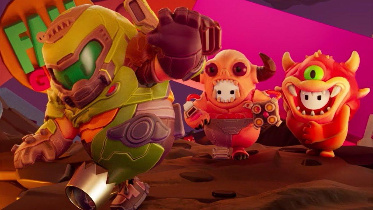 Il 12 gennaio arrivano le skin di Doom su Fall Guys thumbnail