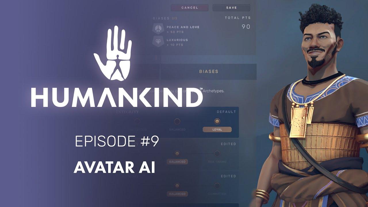 L'episodio 9 del Feature Focus di Humankind introduce gli Avatar e l'AI thumbnail