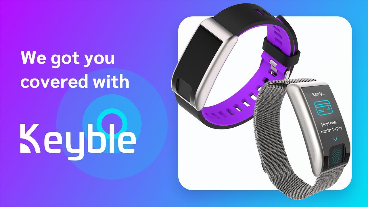Keyble è il nuovo wearable con sensore per le impronte digitali thumbnail
