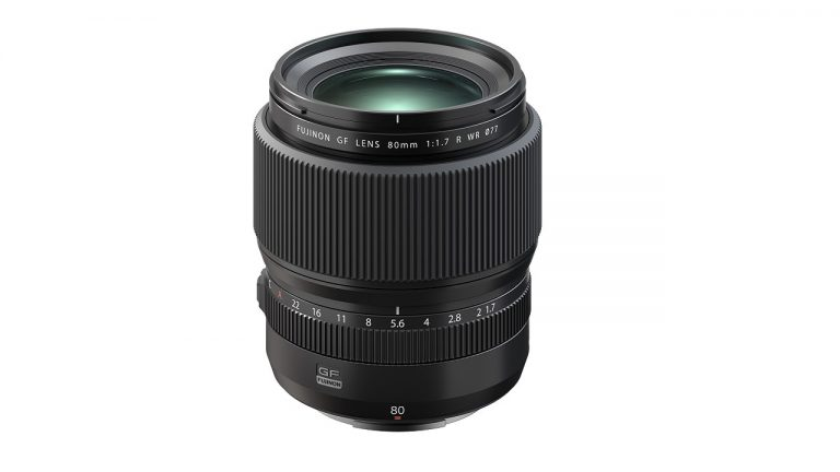 Fujinon obiettivo autofocus GF80mm