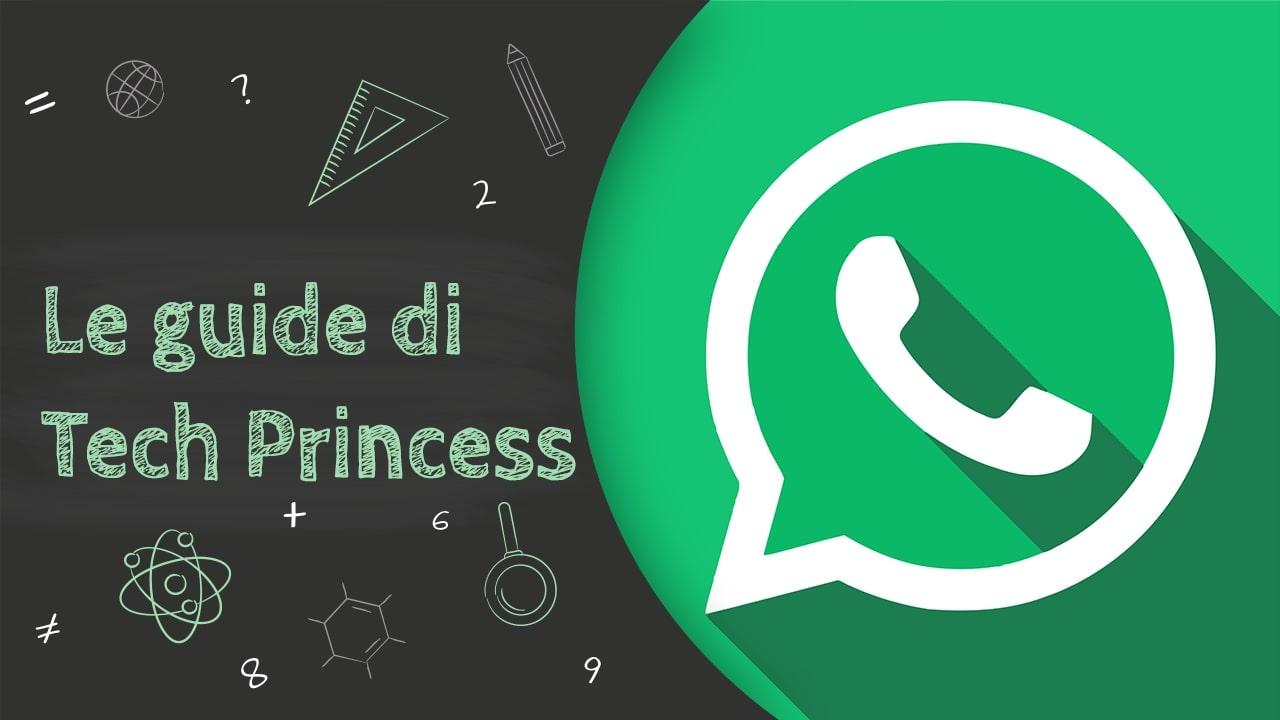 WhatsApp: cos'è, come funziona, come si usa e tutto quello che devi sapere – Le Guide di Tech Princess thumbnail