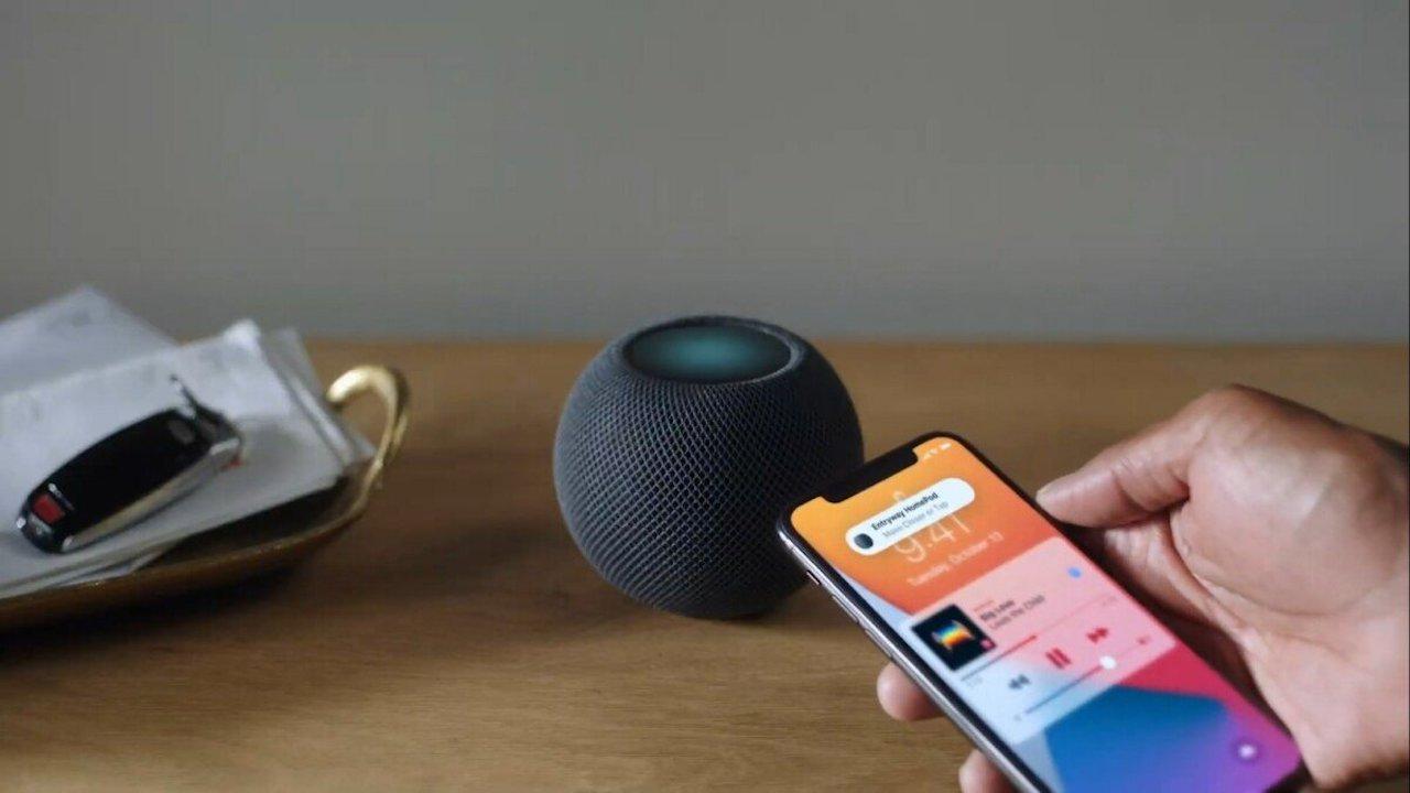 Finalmente è possibile trasferire musica dall'iPhone all'HomePod mini thumbnail
