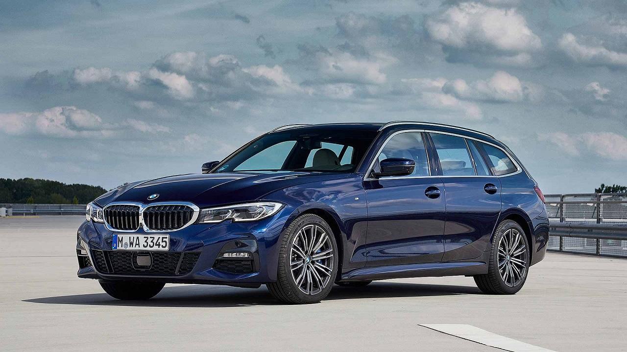 BMW Serie 3 con targa tedesca