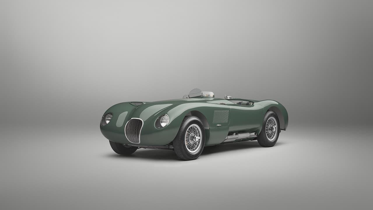 Jaguar C-Type Continuation, la mitica vincitrice della 24 Ore di Le Mans rinasce 70 anni dopo thumbnail