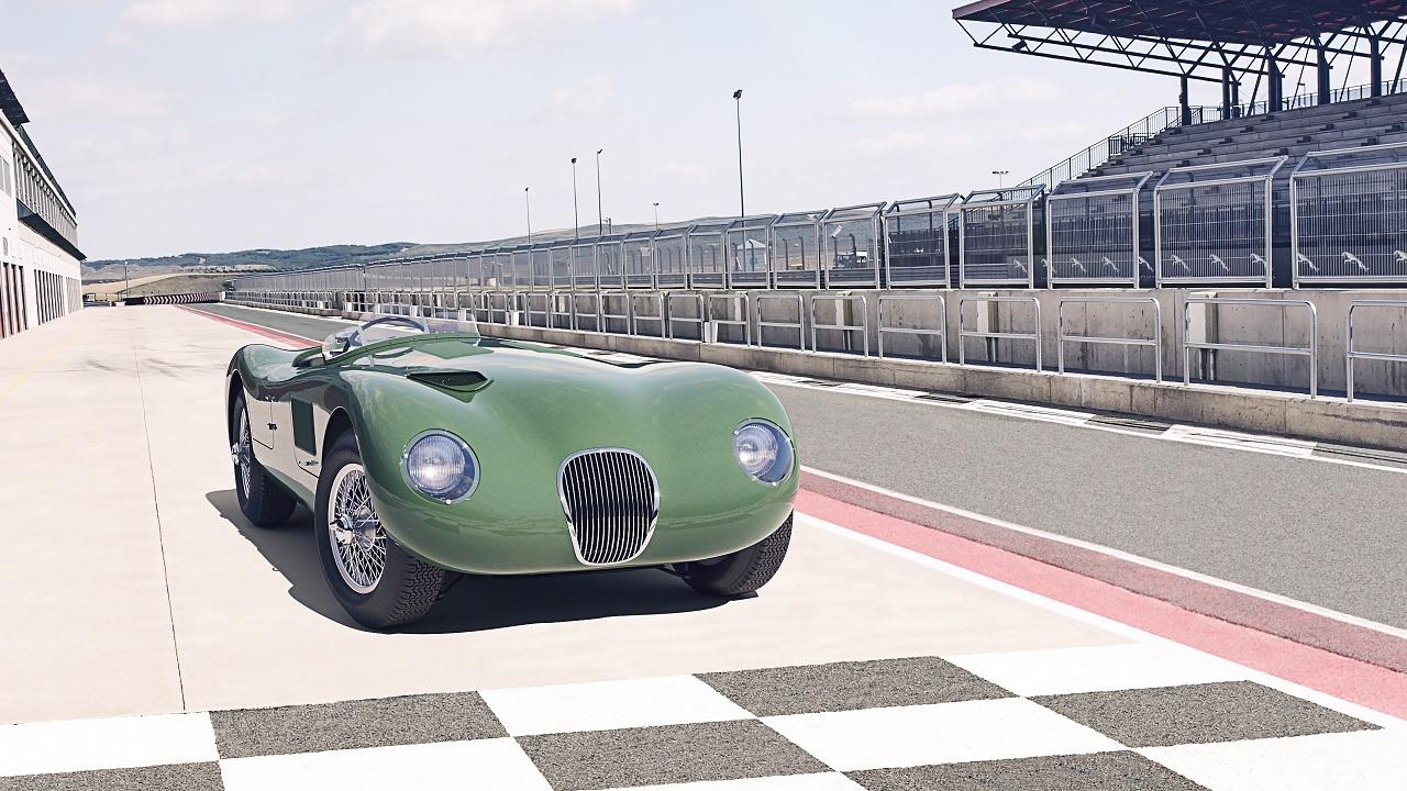 Jaguar C-Type rinasce dopo 70 anni: la leggendaria vincitrice della 24 Ore di Le Mans torna in produzione thumbnail