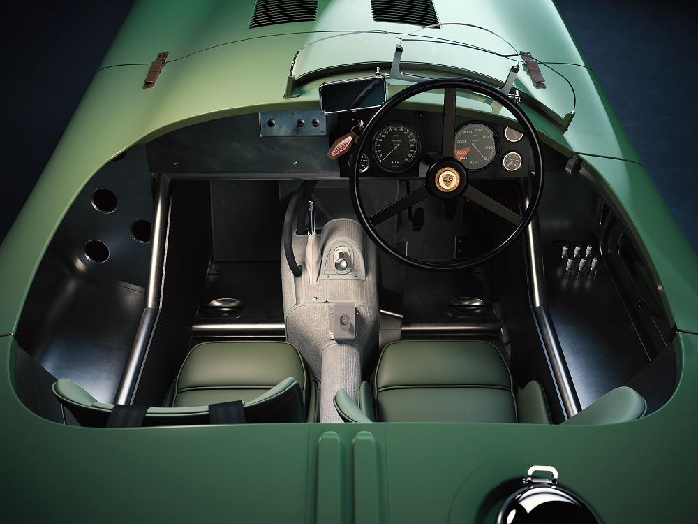 Interni di Jaguar C-Type