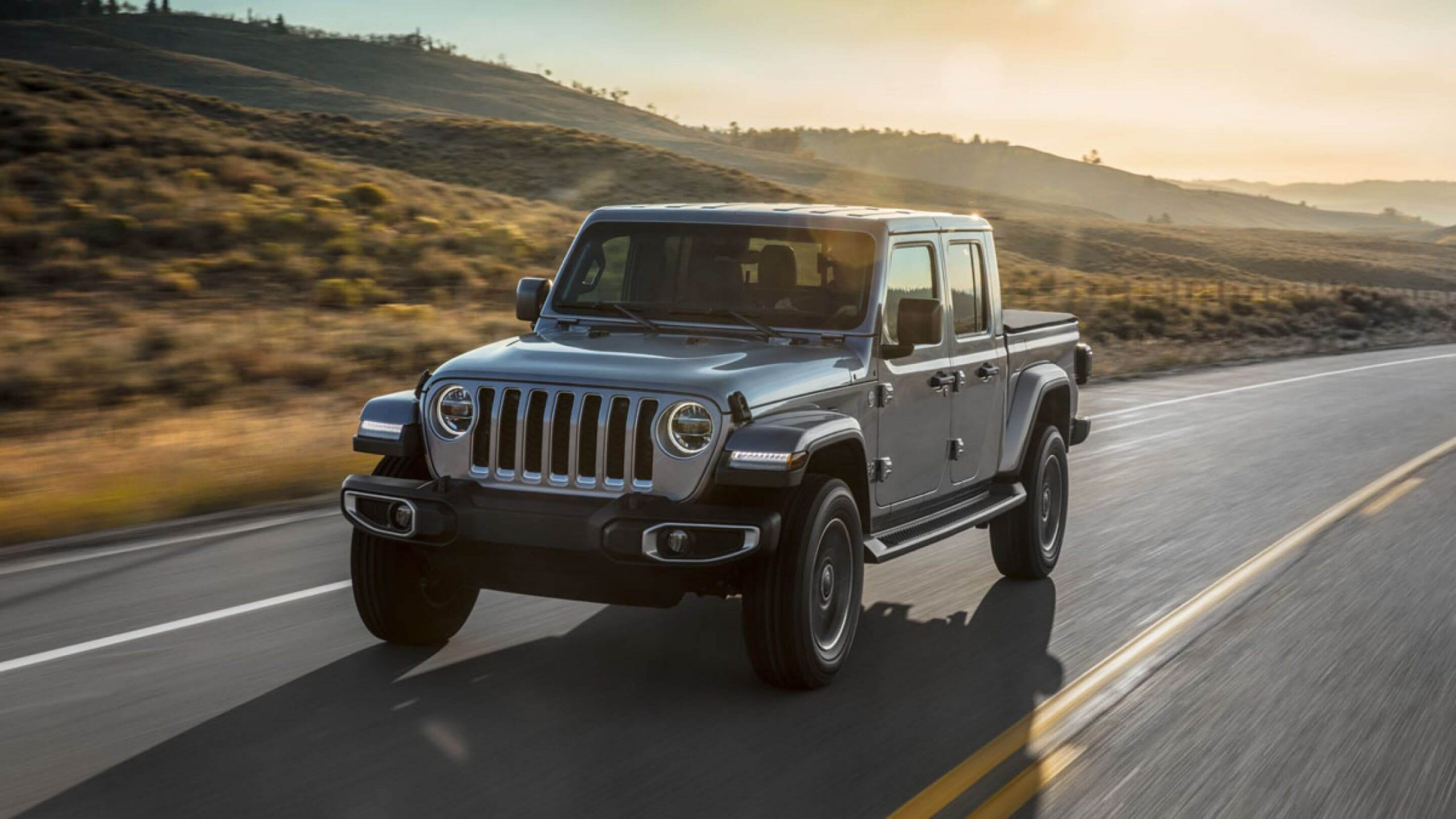Jeep Gladiator frontale