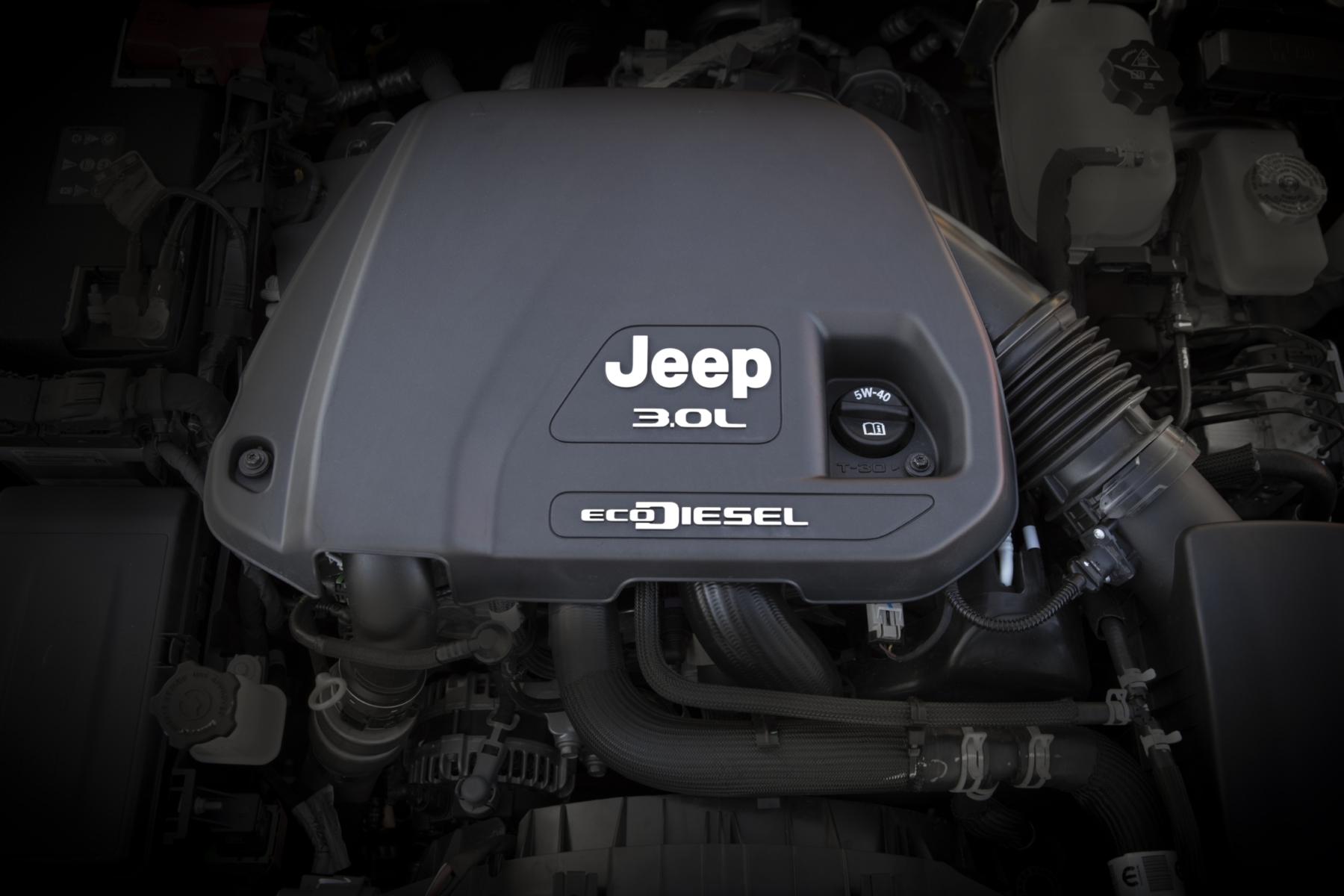 Jeep Gladiator motore