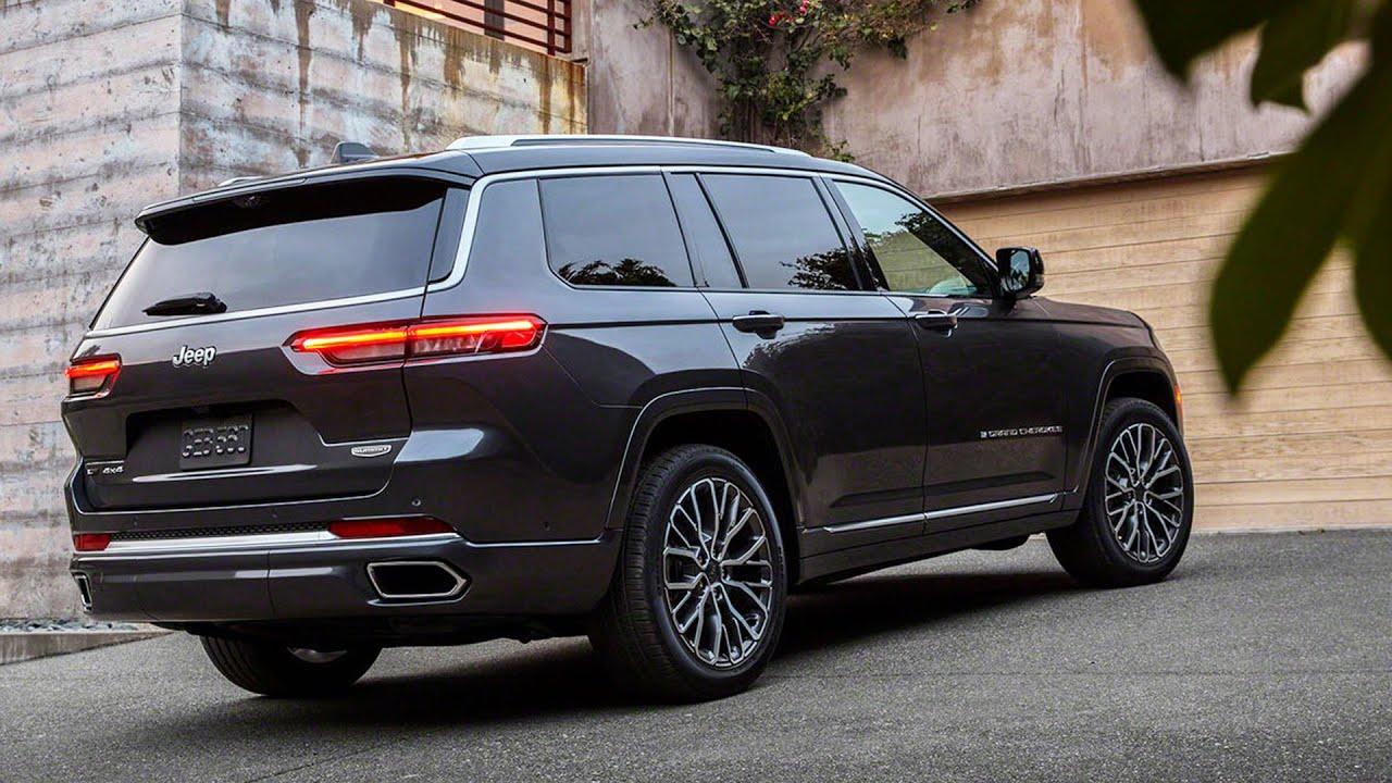 Grand Cherokee 2021 L posteriore