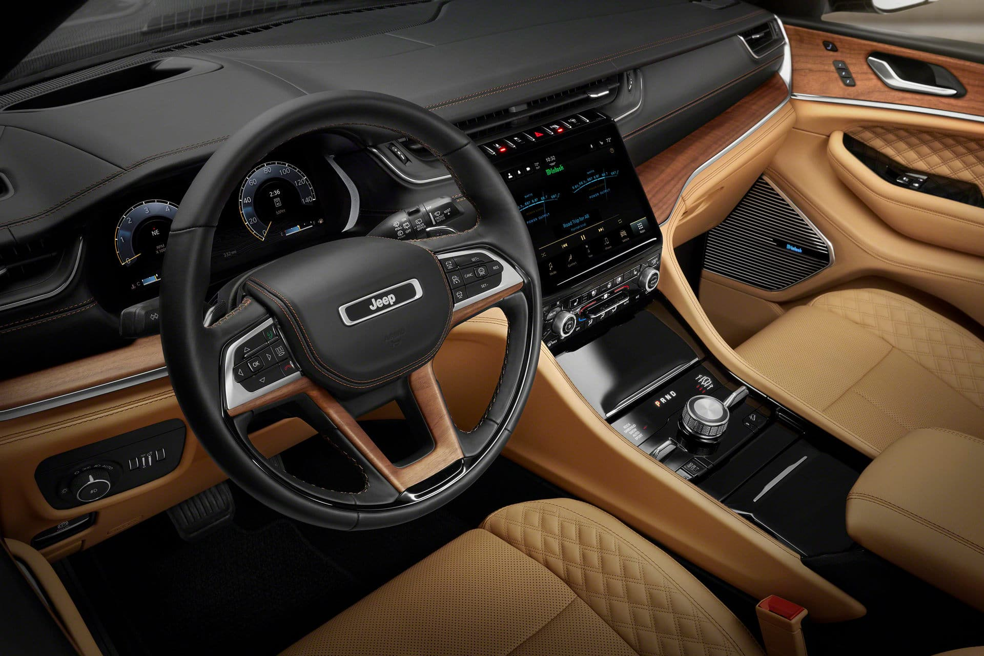 Jeep Grand Cherokee 2021 interni