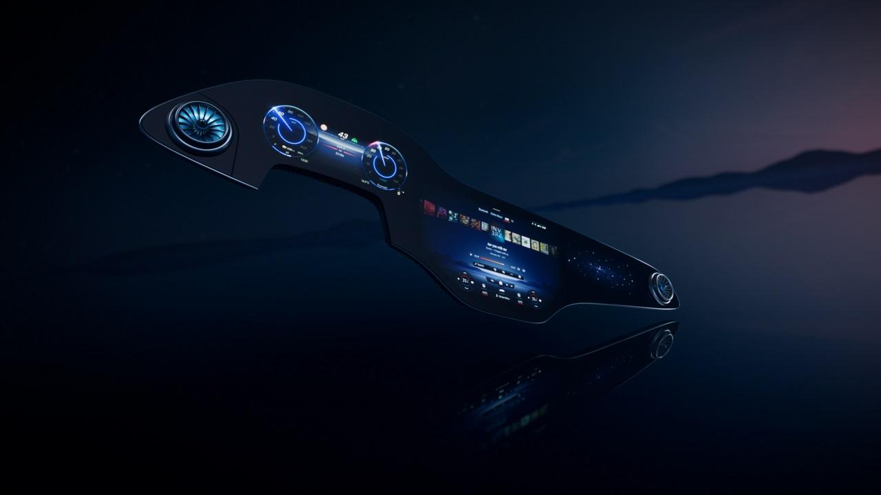 Mercedes Hyperscreen, il nuovo superschermo touch della Stella thumbnail