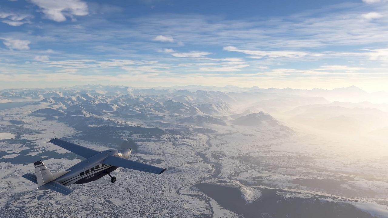In Microsoft Flight Simulator viene aggiunta la neve in tempo reale thumbnail