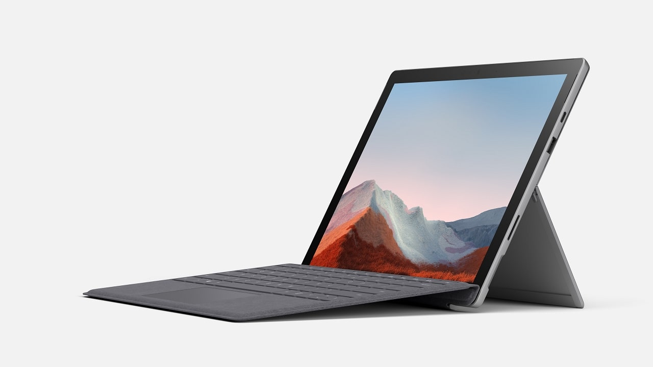 Microsoft annuncia il nuovo Surface Pro 7+ thumbnail