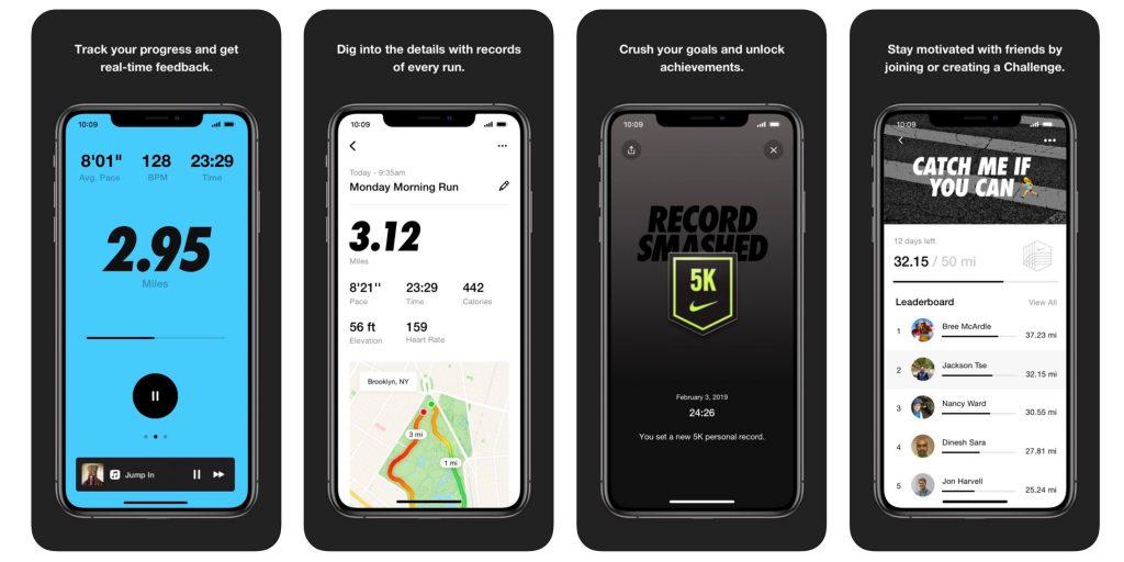 Nike-Run-Club-app per la corsa gratis