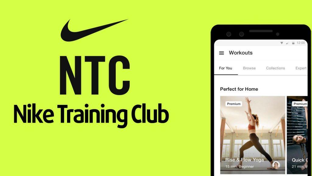 Nike Training Club migliori app per allenamento a casa gratis