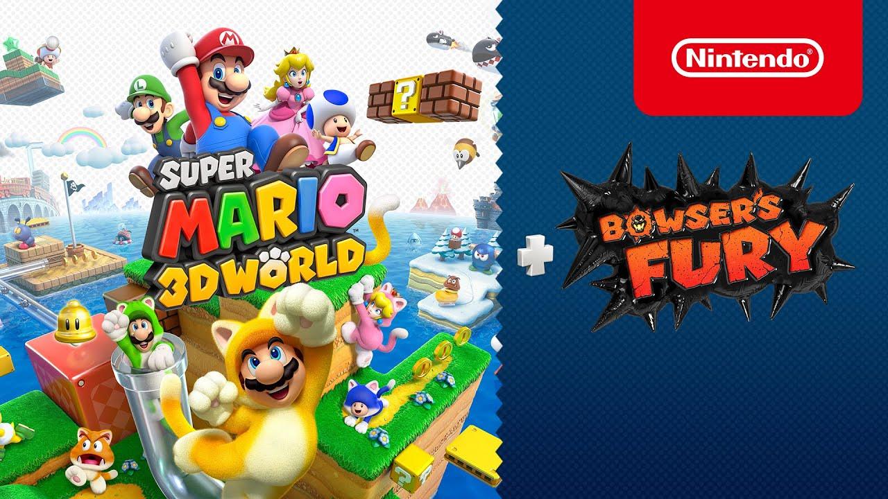 Svelato un nuovo trailer per Super Mario 3D World + Bowser's Fury thumbnail