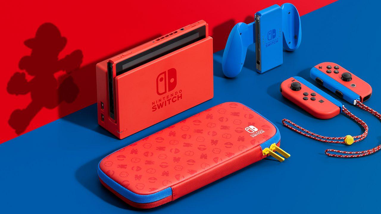 Nintendo Switch si colora di rosso e blu per celebrare Super Mario thumbnail