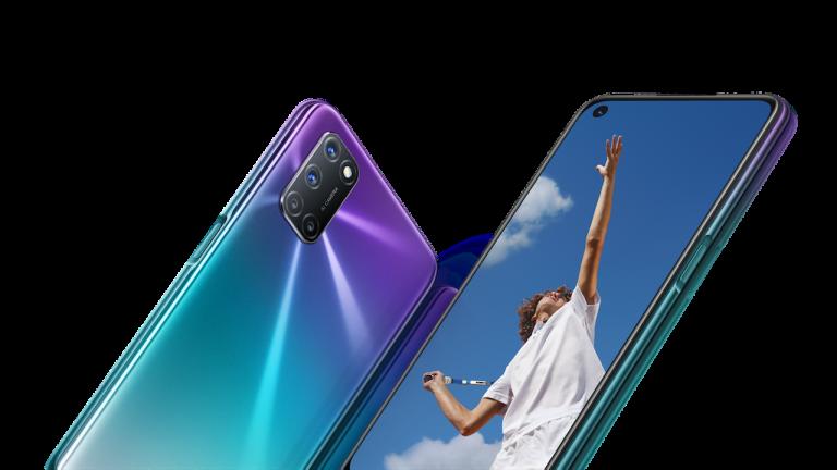 Oppo smartphone A72