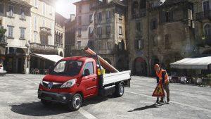 Svelato il nuovo Piaggio Porter NP6, il primo city truck  Il nuovo modello sarà prodotto in Italia