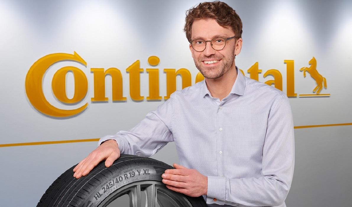 Continental HL con direttore del progetto per pneumatici per auto elettriche