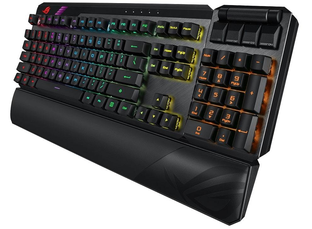 tastiera gaming asus ROG Claymore II ces 2021