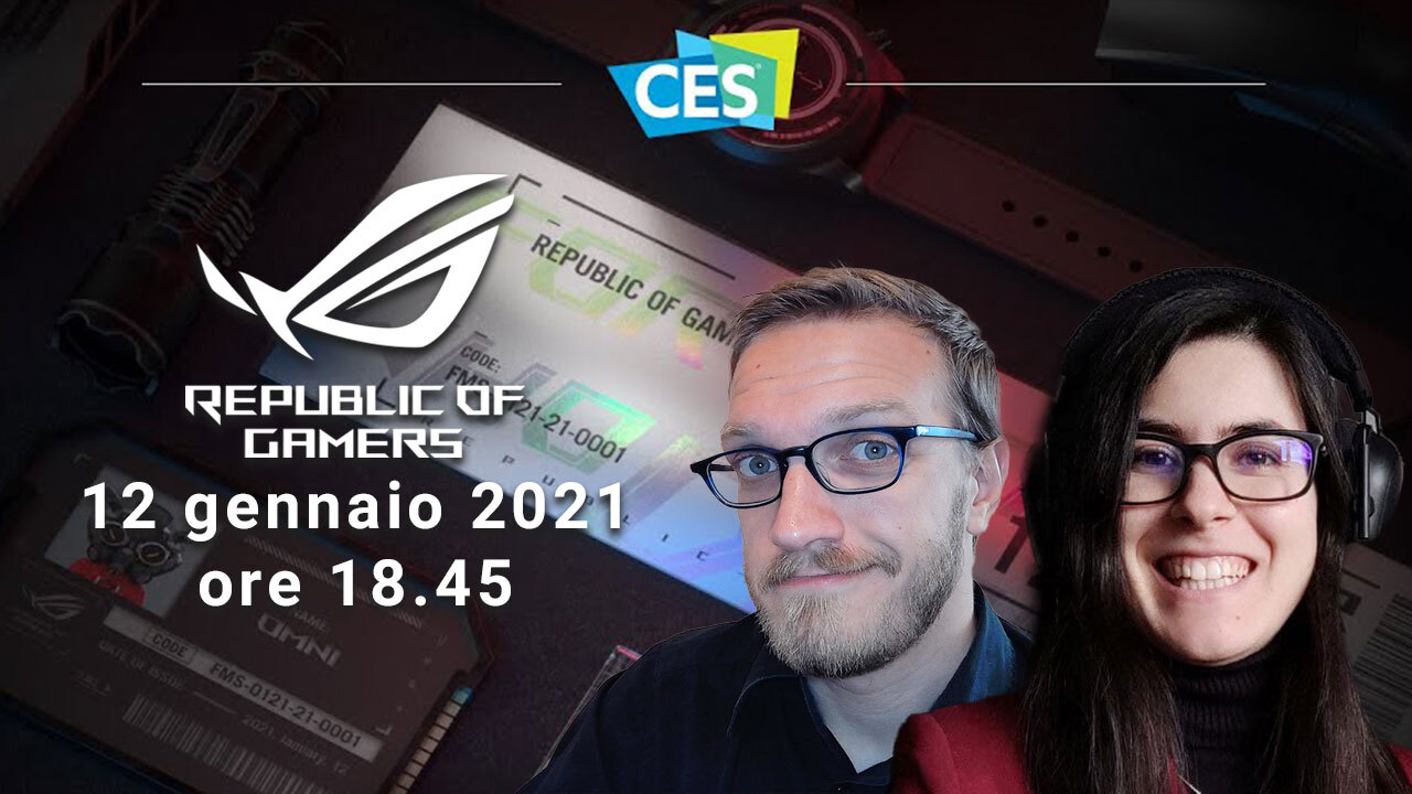 Segui l'evento di presentazione ASUS ROG insieme a TechPrincess thumbnail