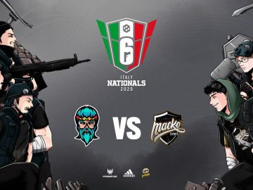La finale del Rainbow Six Siege PG Nationals è in programma il 24 gennaio
