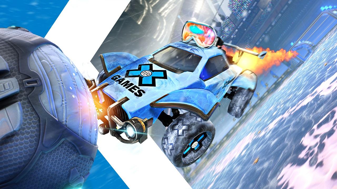 Rocket League: Psyonix e X Games di ESPN lanciano una collaborazione thumbnail