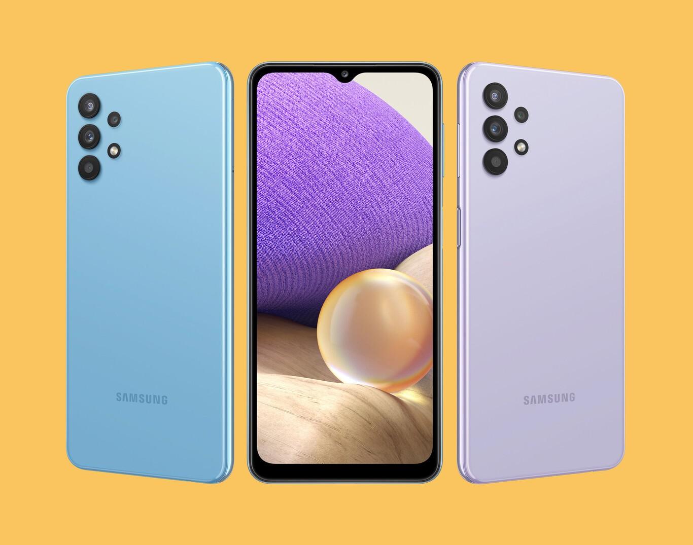 Samsung presenta il nuovo Galaxy A32 5G thumbnail
