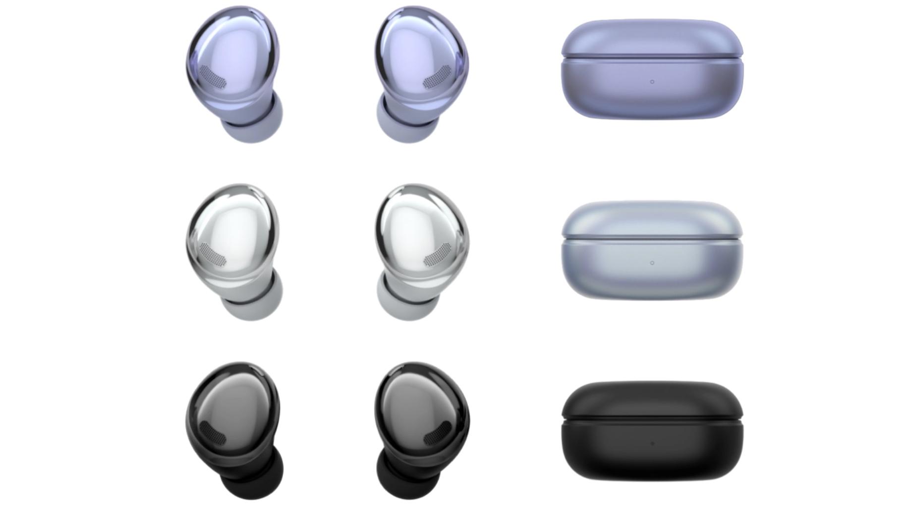Le colorazioni di Samsung Galaxy Buds Pro