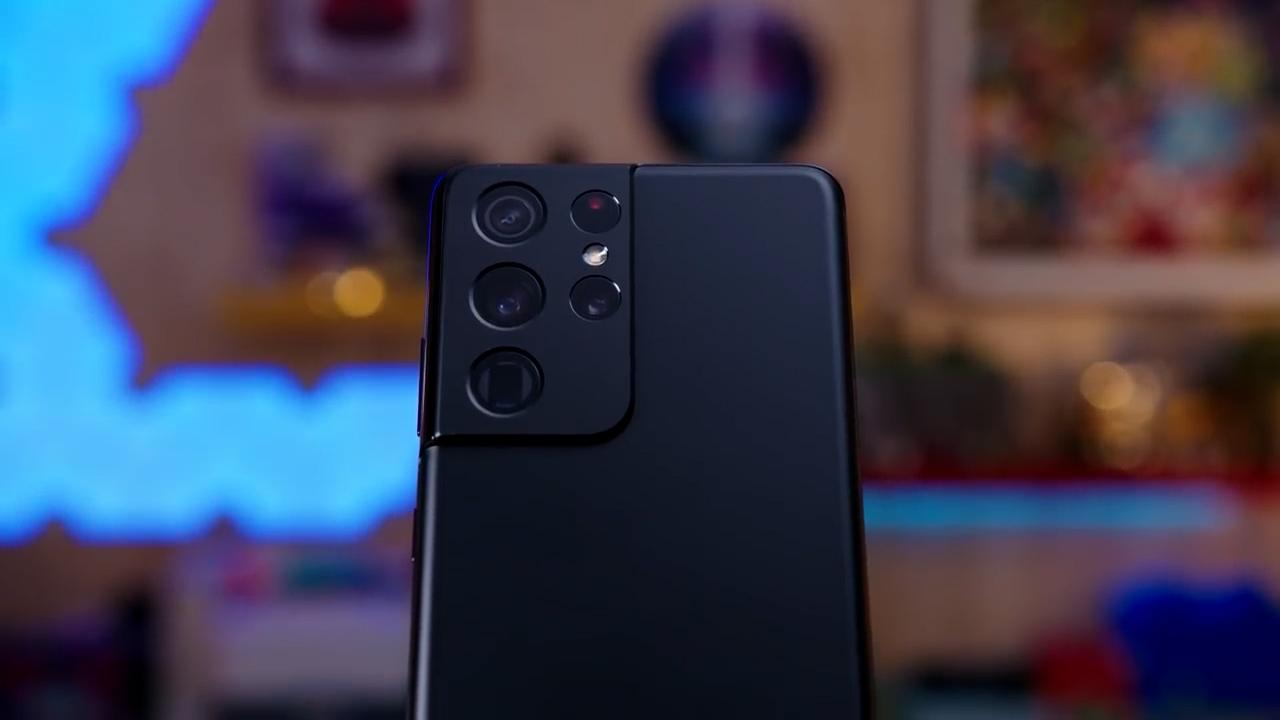 Samsung Galaxy S21 Ultra fotocamera