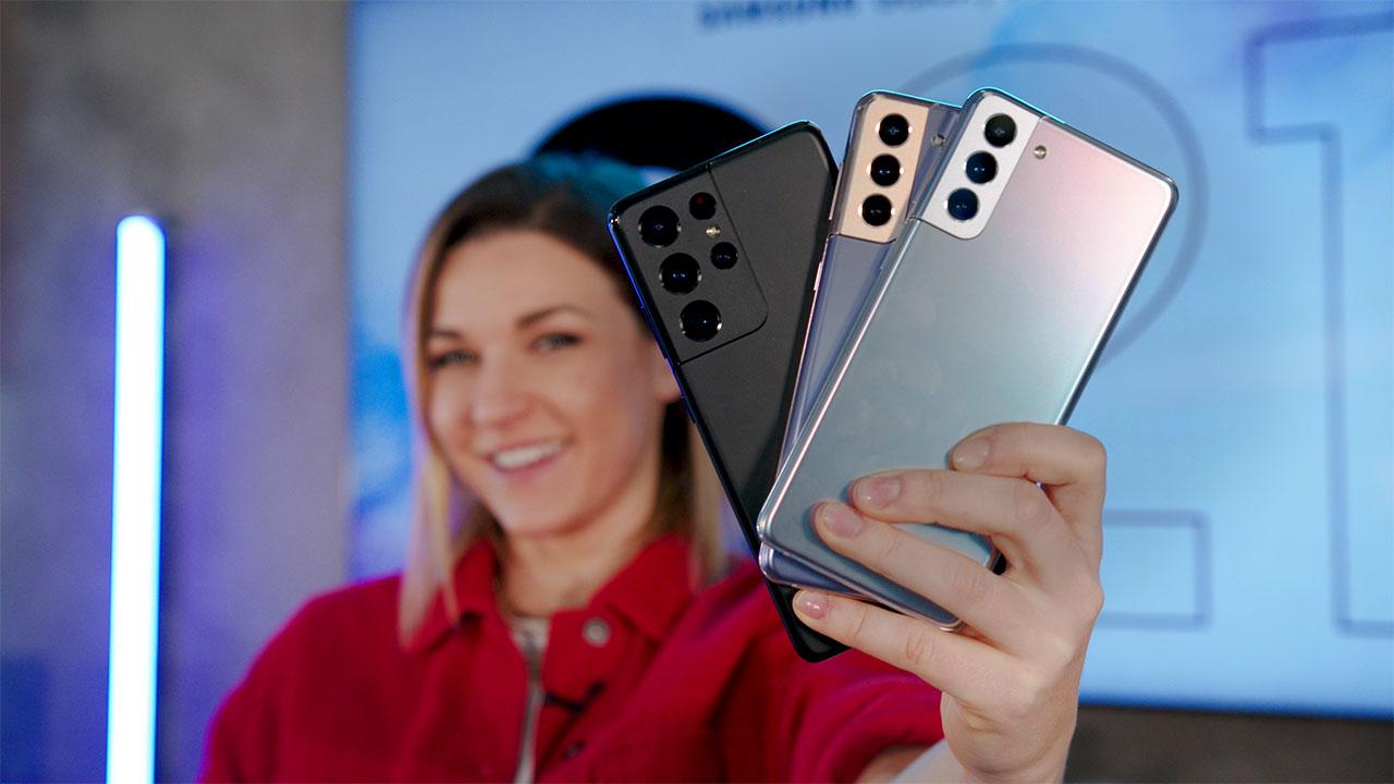 """Samsung Galaxy S21 si fa in tre e sarà uno smartphone premium """"per tutti"""" thumbnail"""