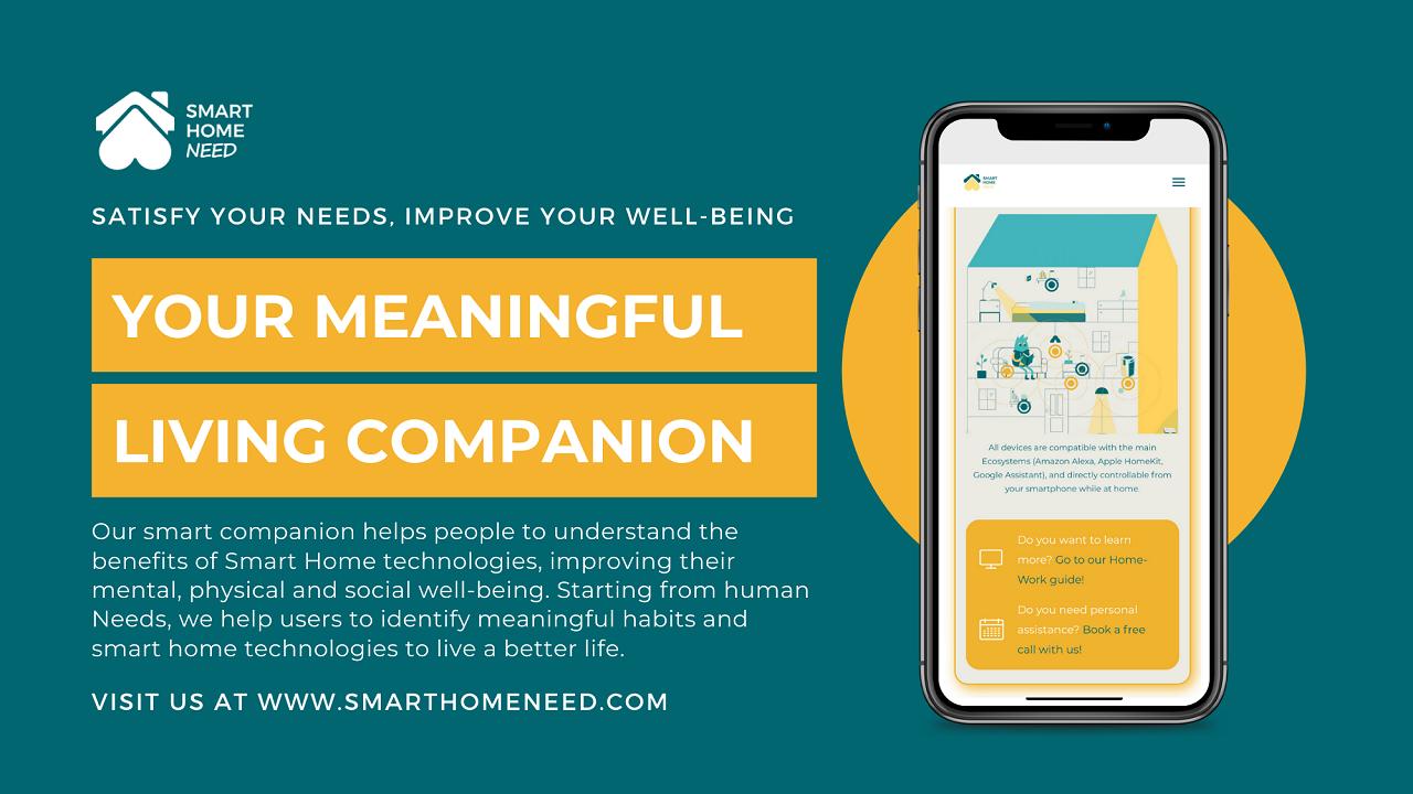 Smart Home Need: la start-up che migliora il benessere delle persone thumbnail