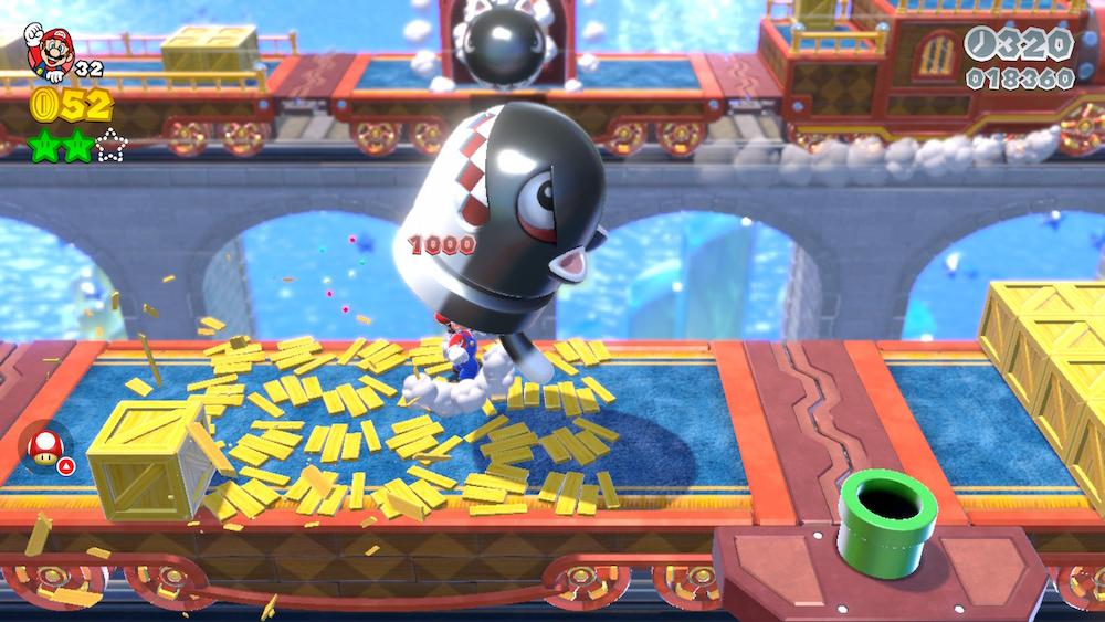 Super Mario 3D World Switch livello
