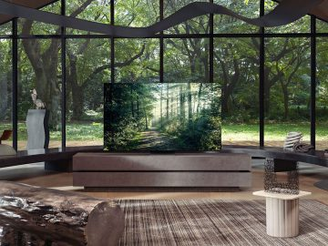 TV Samsung CES 2021