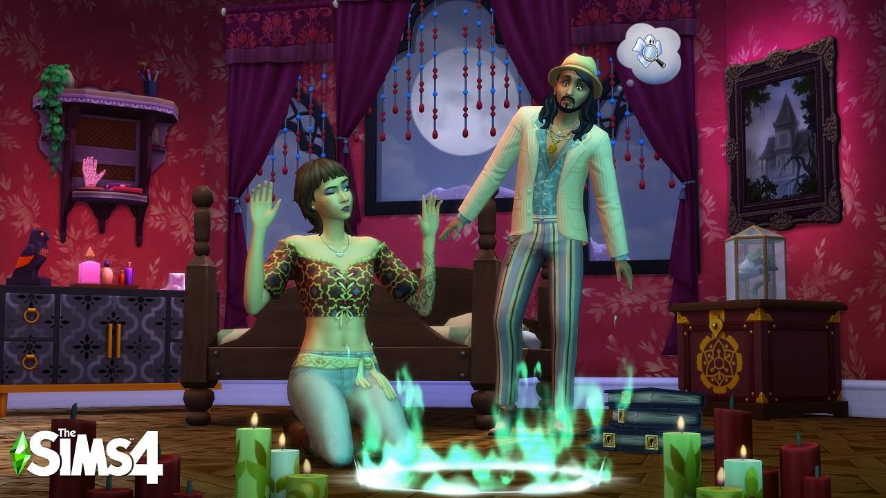 Lo Stuff Pack Fenomeni Paranormali di The Sims 4 è disponibile thumbnail